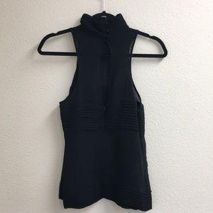 🎟 Karl Lagerfeld Size 4 Black Top